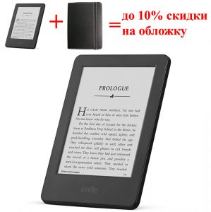 "Электронная книга Amazon Kindle 6 Wi-Fi, 4 GB, 6"" Touchscreen Display (Certified Refurbished)"