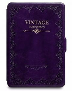 Обложка чехол VINTAGE для Amazon Kindle Paperwhite Purple