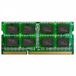 Модуль памяти для ноутбука SoDIMM DDR3 8GB 1600 MHz Team (TED38G1600C11-S01)