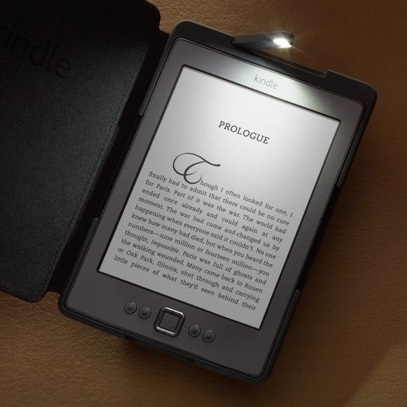 Обложка чехол с подсветкой Amazon Kindle Lighted Leather